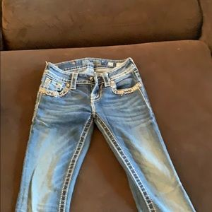 Miss Me jeans size 24 boot jeans.